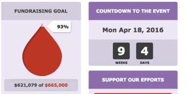 Team Goal Countdown
